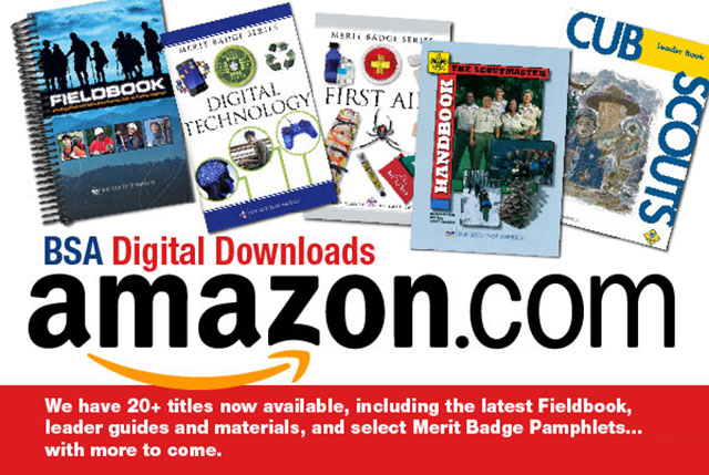 Amazon Boy Scout Books