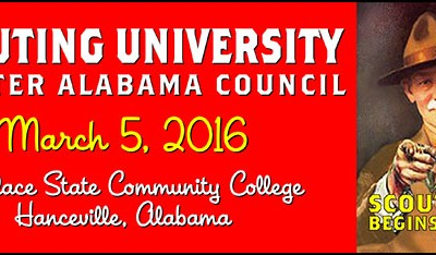 Scouting University 2016 Registration Is Live