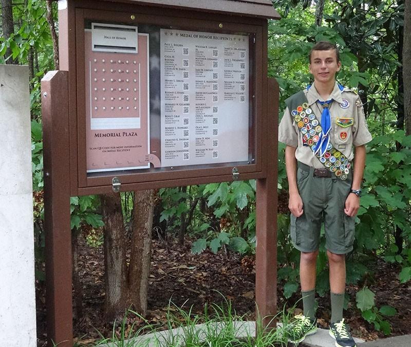 Jonathan Dinkel – Eagle Scout