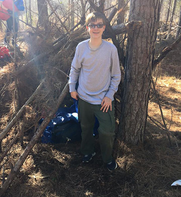 Troop 95's Survival Campout