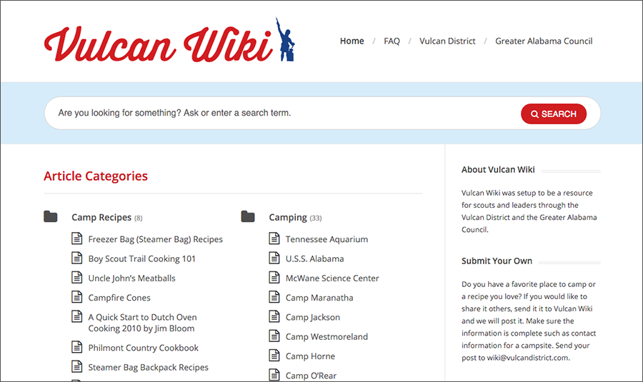 Introducing the Vulcan Wiki