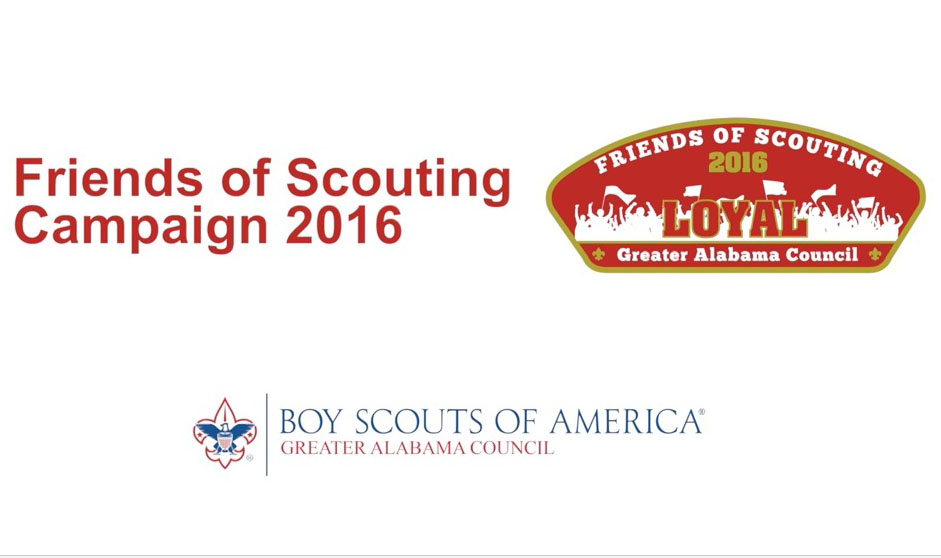 Friends of Scouting Video from Vulcan District