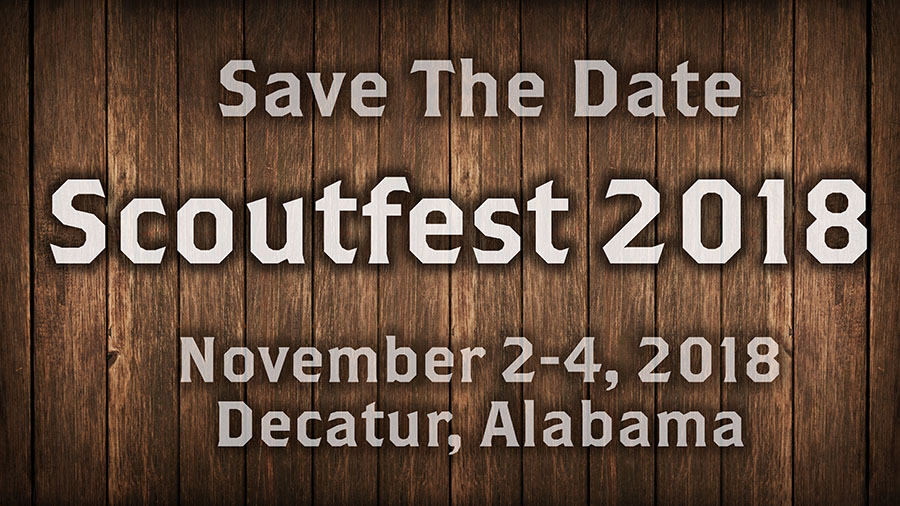Save The Date, Scoutfest 2018
