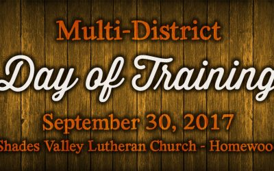 Multi-District Day of Training – Saturday, September 30, 2017