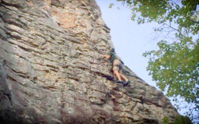 Crew 2010 Climbing at Cherokee Rock Village