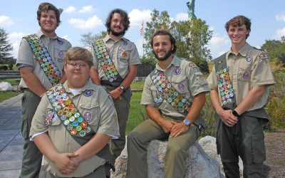 Troop 97 Homewood Recognizes Five Eagle Scouts at Court of Honor