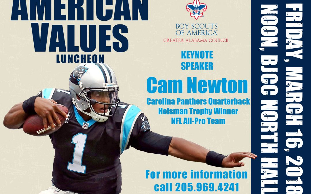 2018 American Family Values Luncheon to feature Cam Newton