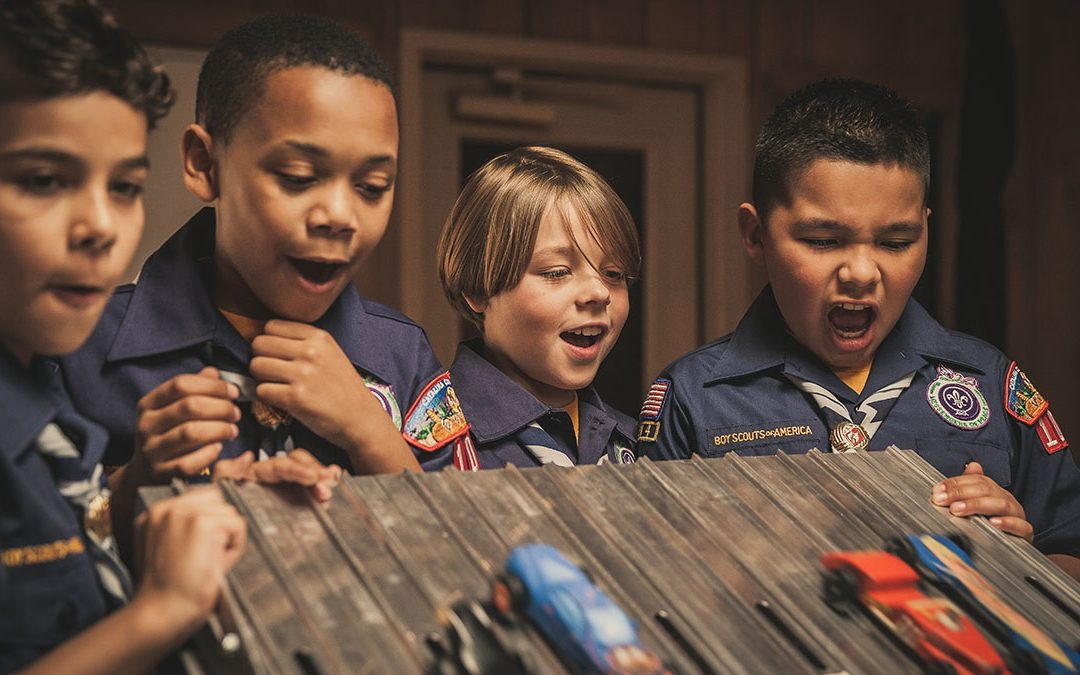 2018 Vulcan District Pinewood Derby is March 10, 2018