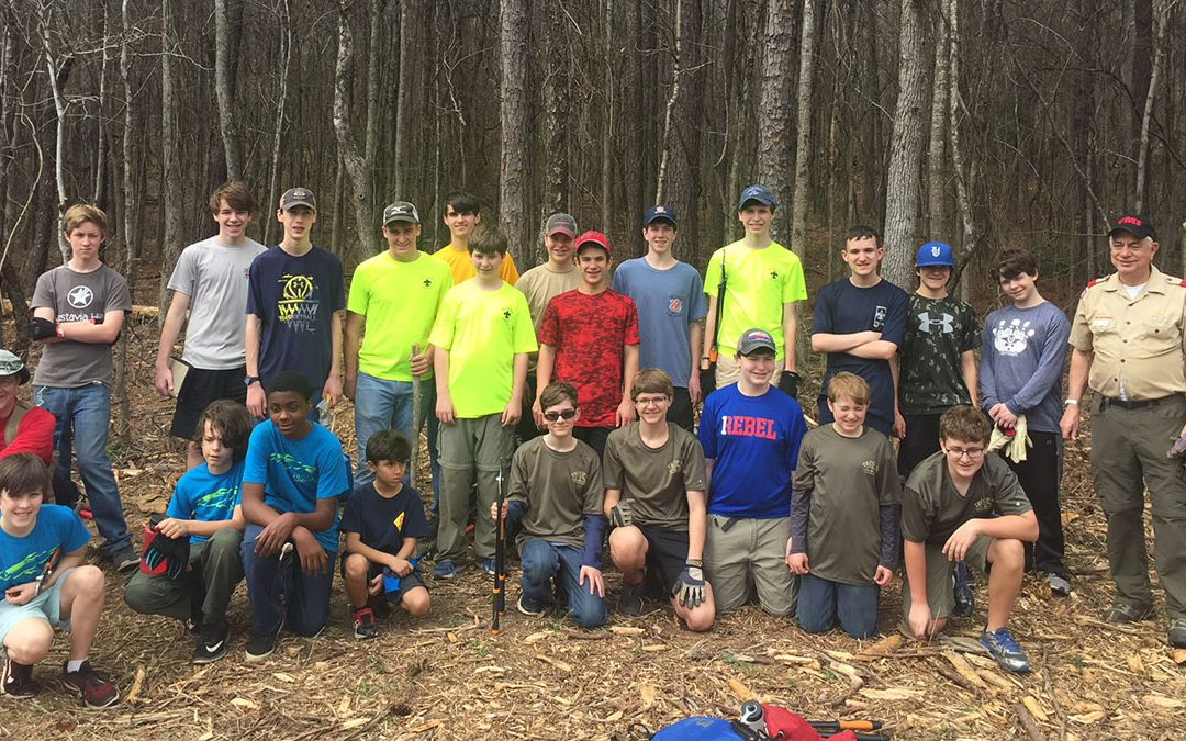 Second Vulcan District Workday at Red Mountain Park
