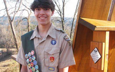 Troop 320 Honors Newest Eagle Scout – William Gerry Krueger, Jr.