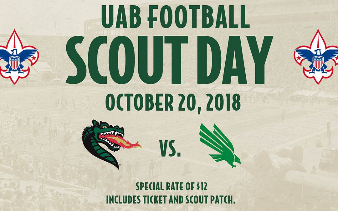 UAB Football Scout Day October 20, 2018