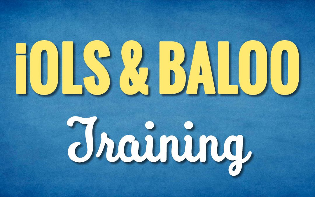iOLS and BALOO Training September 7-8, 2019