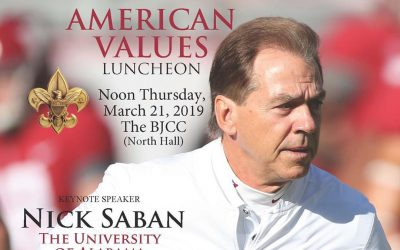 2019 American Values Luncheon featuring Nick Saban
