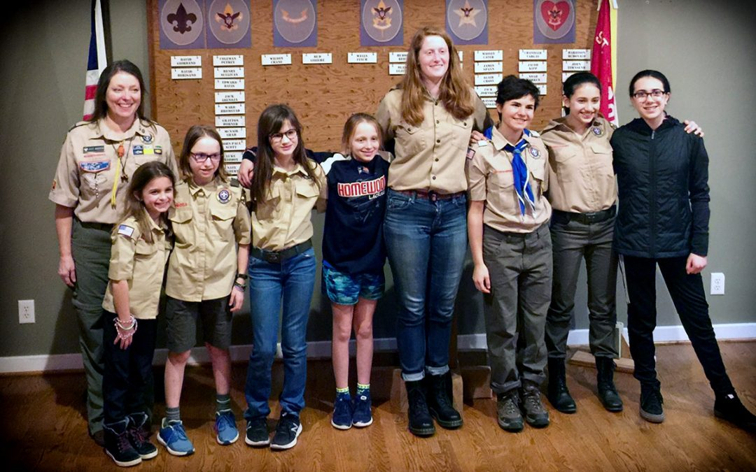 Welcome Troop 86 Green to the Vulcan District